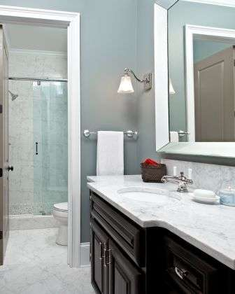 Basement Remodel - Bathroom Details